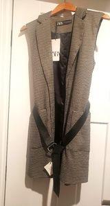 Zara Belted Vest